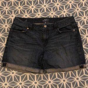 Ann Taylor Loft denim shorts